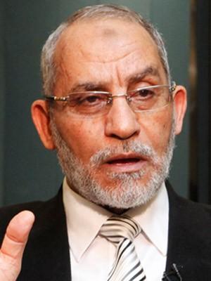 Mohammed Badie, líder do movimento Irmandade Muçulmana. (Foto: Reprodução / CBSNews)