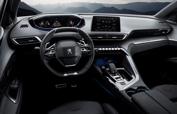 Interior do Peugeot 3008 GT europeu (Foto: Divulgação)