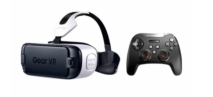 Gamepad da SteelSeries foi anunciado para o novo Gear VR (Foto: Reprodução/TechCrunch)