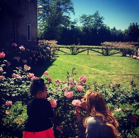 Beyoncé e Blue Ivy (Foto: Instagram / Reprodução)