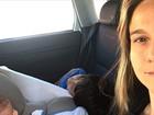 Fernanda Gentil viaja para curtir réveillon em família