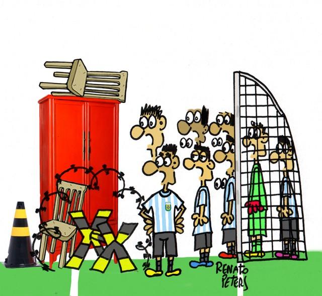 Pode vir, Neymar!-Charge Peters