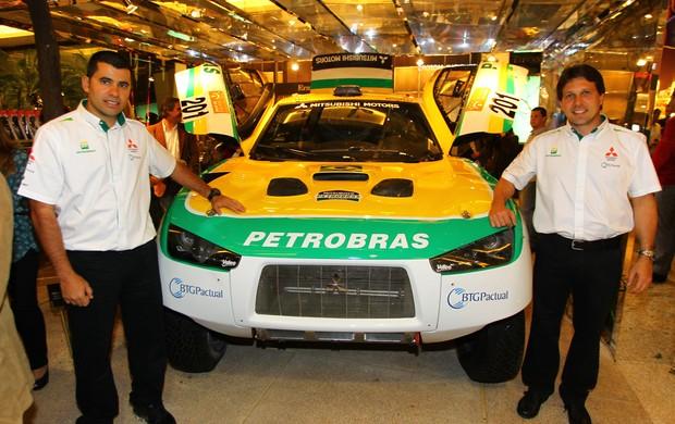 Guilherme Spinelli e Youssef Haddad Sertões (Foto: Divulgação)