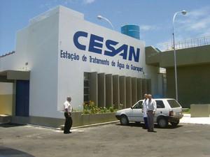 Companhia Espírito Santense de Saneamento (Cesan) (Foto: Karla Hoffmann)