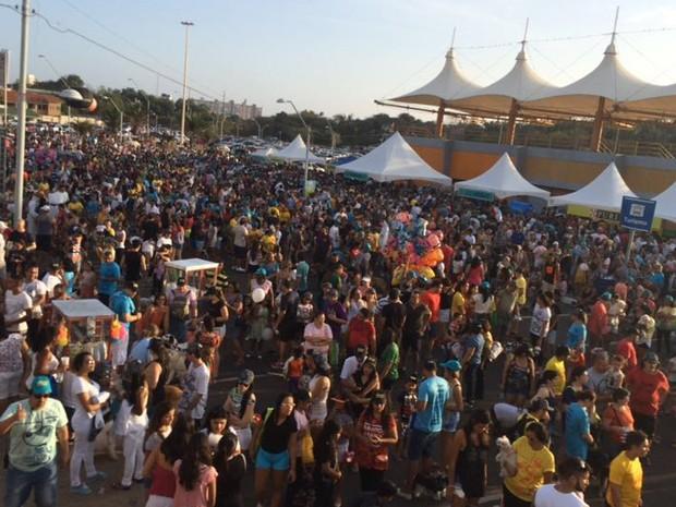 Evento em São Luís foi acompanhado por um público estimado de 1.500 pessoas  (Foto: Dalva Rego / TV MIrante)