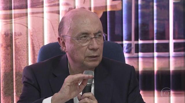 Candidato do MDB, Henrique Meirelles, faz campanha em Brasília