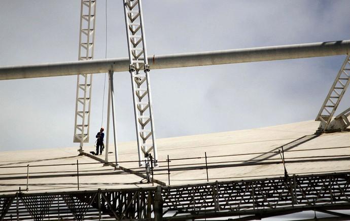 obras estádio engenhão (Foto: Ale Silva / Agência Estado)