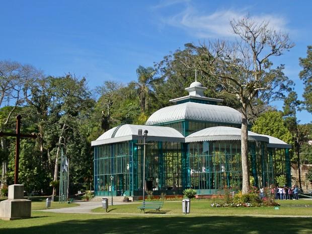 Palácio de Cristal (Foto: Bruno Wanderley)