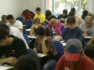 concurso estudo (Foto: Reprodução/TV Globo)