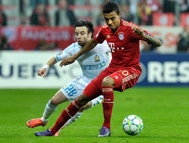 Luiz Gustavo, do Bayern de Munique (Foto: Agência AFP)