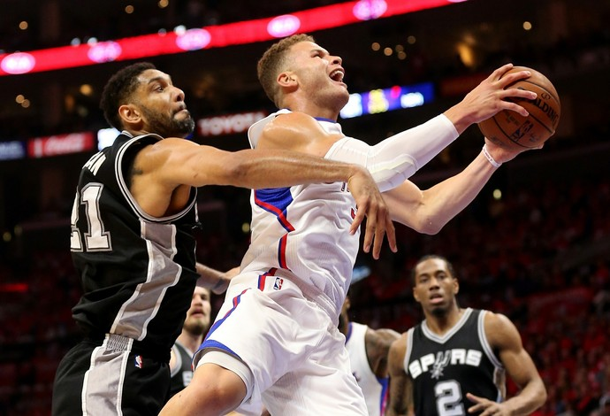 Los Angeles Clippers X San Antonio Spurs (Foto: Getty Images)