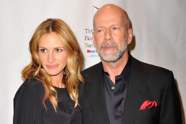 Julia Roberts e Bruce Willis (Foto: Divulgação)