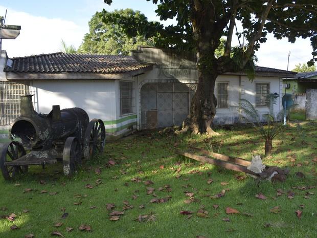 Espaço que fica no Bairro Marechal Rondon, em Ariquemes (RO) (Foto: Diêgo Holanda/G1)