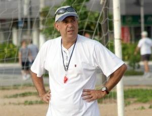 Adail Sampaio, técnico da seleção de Vitória de futebol de areia (Foto: Pauta Livre/Divulgação)
