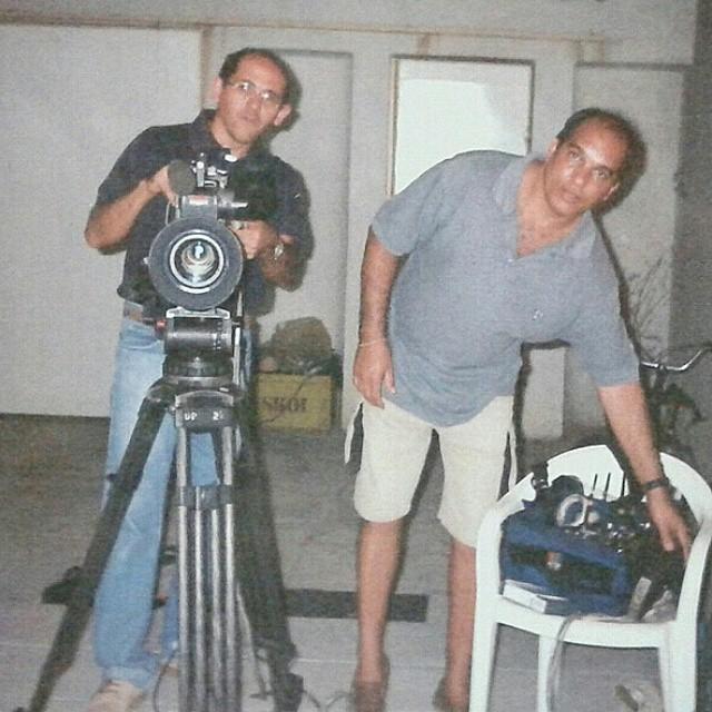 Ricardo Matos gravou material para o programa Linha Direta (Foto: Arquivo Pessoal)