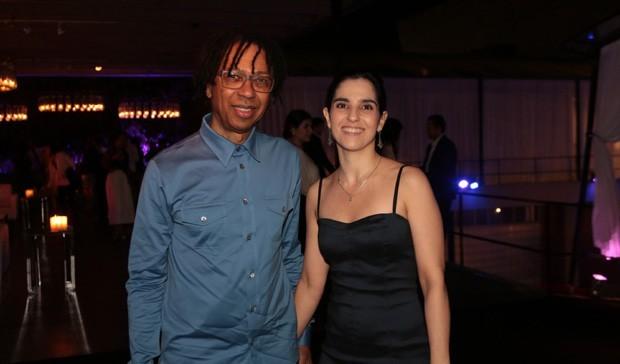Djavan e a mulher, Rafaela Brunini  (Foto: Divulgação)