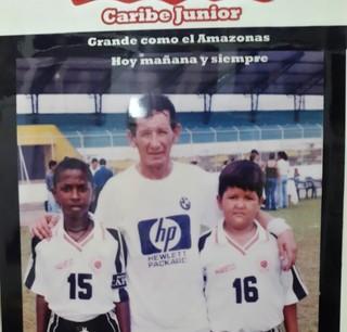 Miller Bolaños, Grêmio, categorias de base, Equador (Foto: Arquivo Pessoal)