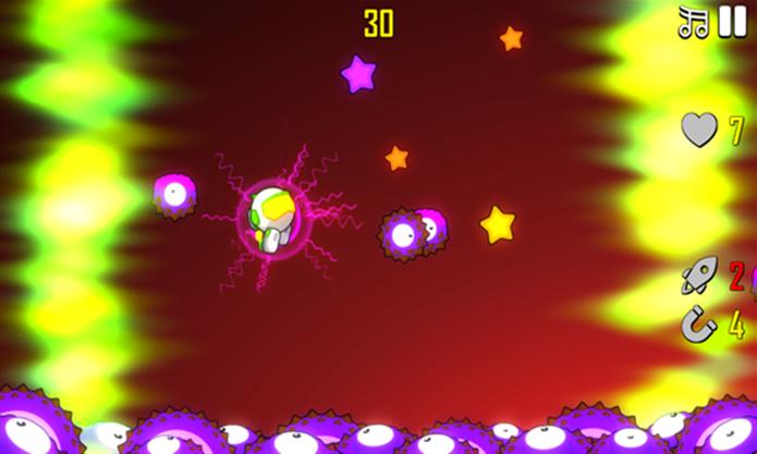 Astro Bouncer é um simpático e viciante game para Windows Phone (Foto: Divulgação/Windows Phone Store)