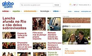 Globo.com é dominada por 'Avenida Brasil' para relembrar fatos bombásticos (Avenida Brasil/TV Globo)