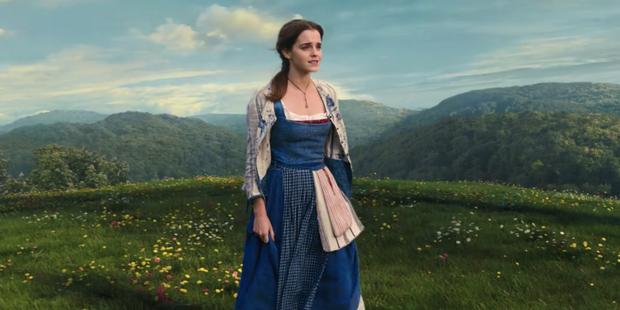 Emma Watson em A Bela e a Fera (Foto: Reprodução/ YouTube)