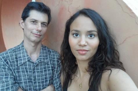 Luis Nachbin e Mayra Andrade (Foto: Arquivo pessoal)