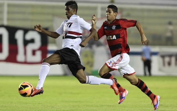 lance são paulo flamengo  (Foto: site oficial do São Paulo FC)