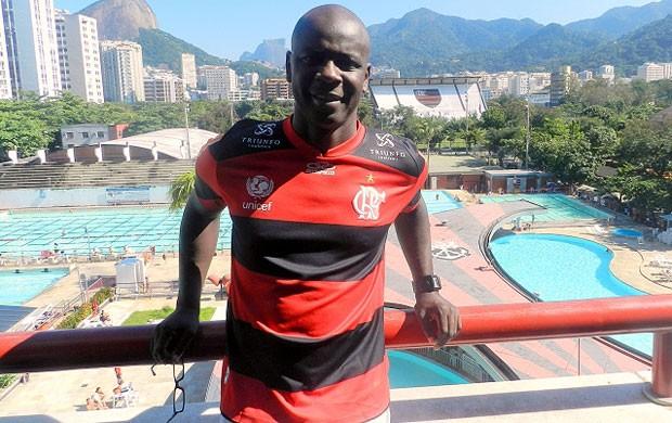 Thuram no flamengo (Foto: Divulgação / Site Oficial do Flamengo)