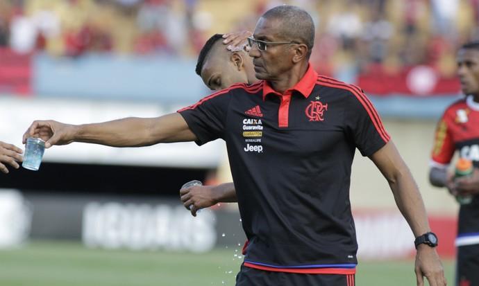 Cristóvão Borges Goiás x Flamengo (Foto: Gilvan de Souza / Flamengo)