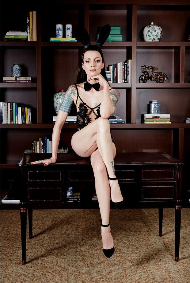 Marina Dias (Foto: Divulgação/ Revista Playboy)