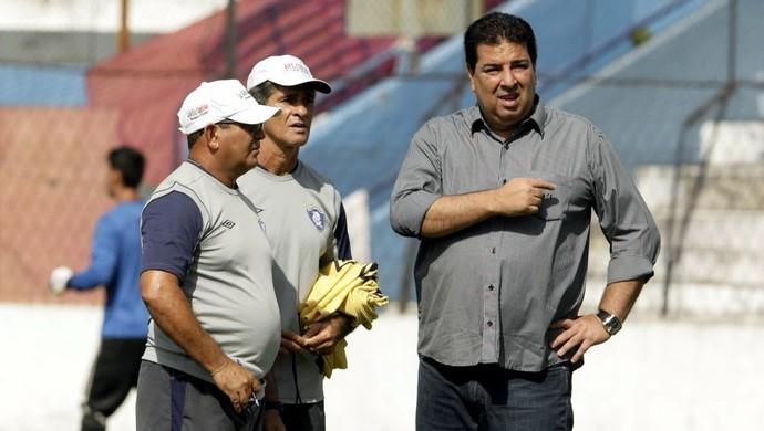Edmilson Melo, Charles Guerreiro e Zeca Pirão (Foto: Everaldo Nascimento/O Liberal)