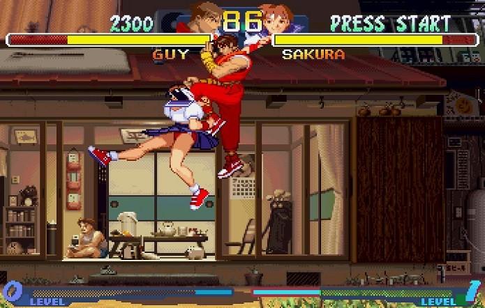 Alpha 2 teve a estréia de Sakura (Foto: Divulgação)