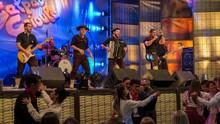 Galpão mostra atrações que animaram festa em Três Coroas  (Maicon Hinrichsen/RBS TV)