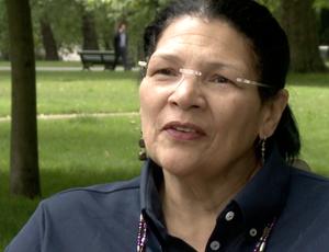 Ex-remadora dos Estados Unidos Anita DeFrantz (Foto: Reprodução SporTV)