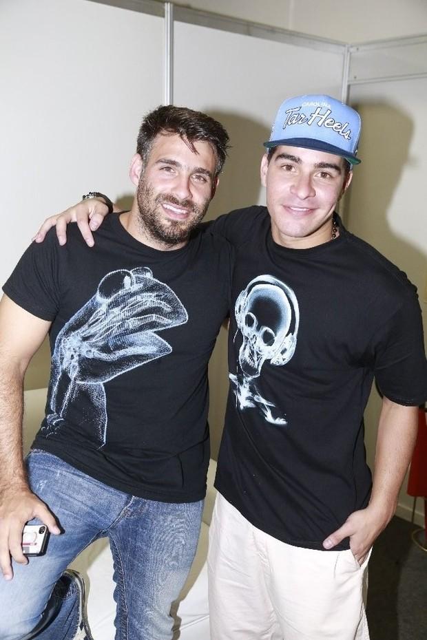 Raoni Carneiro e Thiago Martins (Foto: Fred Pontes/Divulgação)