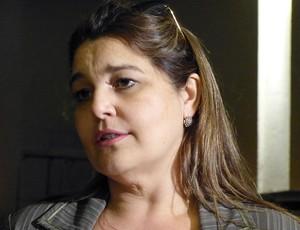 Gislane, Advogada, Ronaldinho (Foto: Vicente Seda / Globoesporte.com)