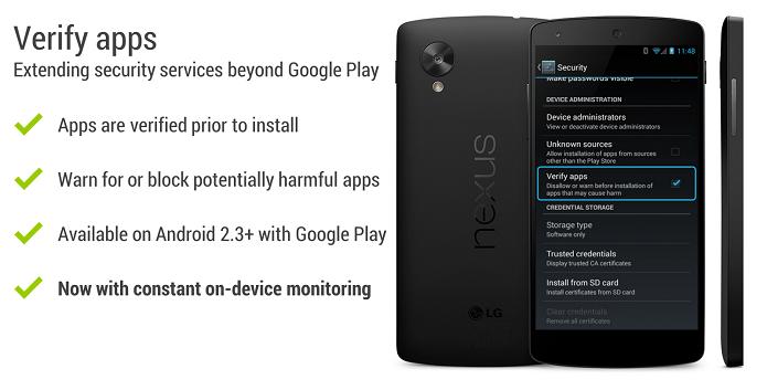 Verificação de apps está mais potente (Foto: Divulgação/Google)
