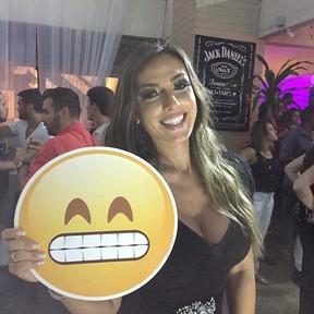Nicole Bahls no aniversário de Anitta no Rio (Foto: Instagram/ Reprodução)