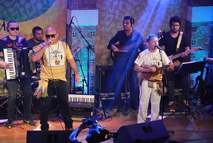 Canto da Mata relembra sucessos de boi-bumbá (Foto: Katiúscia Monteiro/ Rede Amazônica)