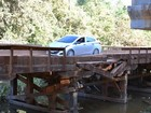 Ponte com risco de desabar é interditada no Vale do Guaporé