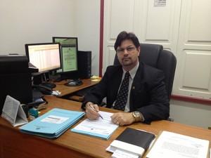 Promotor Rolim Tarauacá (Foto: Duaine Rodrigues/G1)