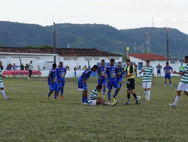 Desportiva-PB derrota o Miramar e cola nos líderes da Segunda Divisão (Foto: Renata Vasconcellos / Globoesporte.com)