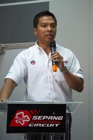 Razlan Razali, chefe do circuito de Sepang, diz que não há clima para F-1, mas garante etapa (Foto: Getty Images)