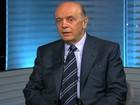 Serra é entrevistado pelo SPTV