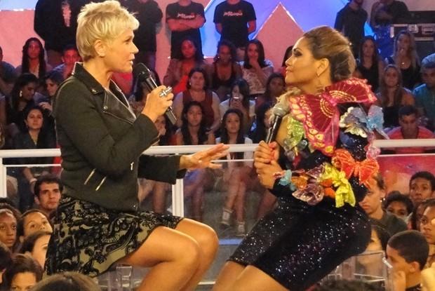 Gaby Amarantos no TV Xuxa  (Foto: TV Globo/ TV Xuxa)