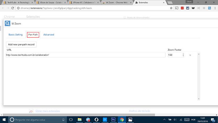 Como dar zoom em uma aba específica do Google Chrome | Dicas
