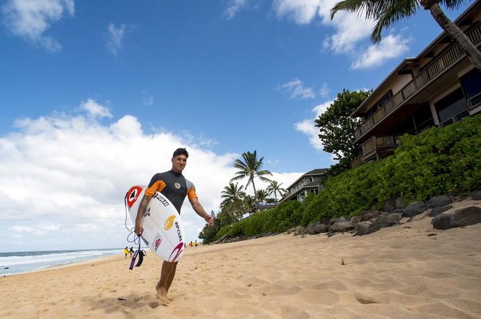 Gabriel Medina na temporada 2014 no Havaí surfe (Foto:  Pedro Gomes Photography)