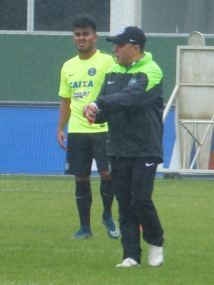 Pachequinho Coritiba (Foto: Thiago Ribeiro)