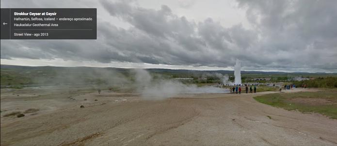 Google Street View exibe cachoeiras geladas e gêiseres em fotos em 360º (Foto: Reprodução/Google)