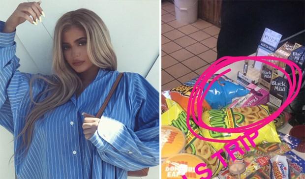 Kylie Jenner (Foto: Reprodução/Instagram/SnapChat)