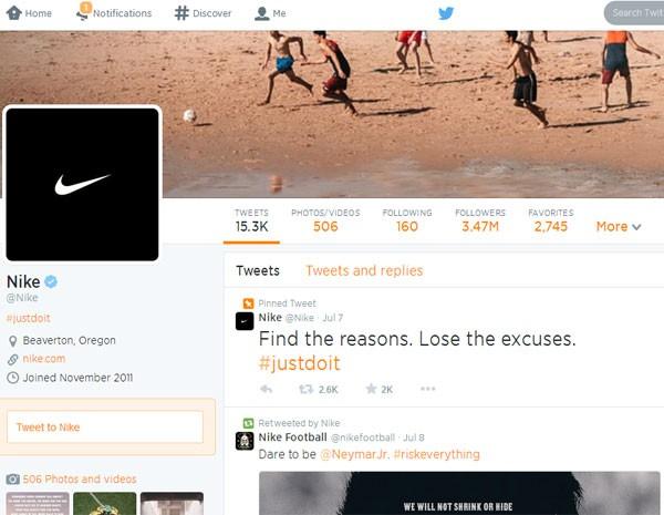 Nike pede explicações sobre o jogo. (Foto: Reprodução)